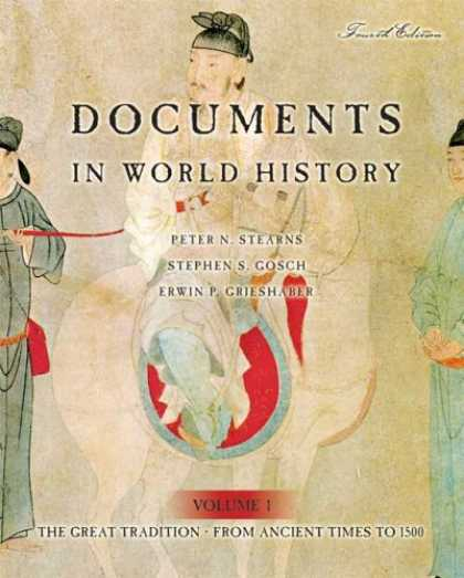 History Books - Documents in World History: The Great Tradition, Volume 1 (From Ancient Times to