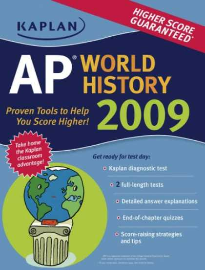 History Books - Kaplan AP World History 2009 (Kaplan Ap. World History)
