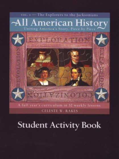 History Books - All American History Vol 1 Student Activ