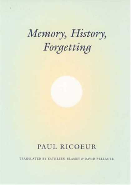 History Books - Memory, History, Forgetting