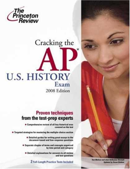 History Books - Cracking the AP U.S. History Exam, 2008 Edition (College Test Preparation)