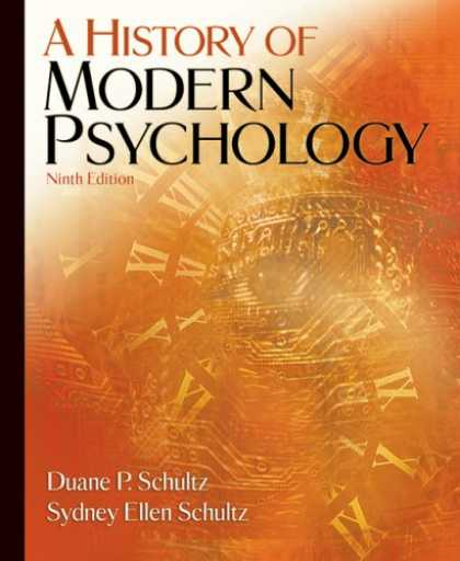 History Books - A History of Modern Psychology
