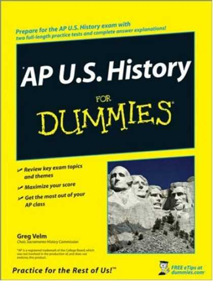 History Books - AP U.S. History For Dummies (For Dummies (History, Biography & Politics))