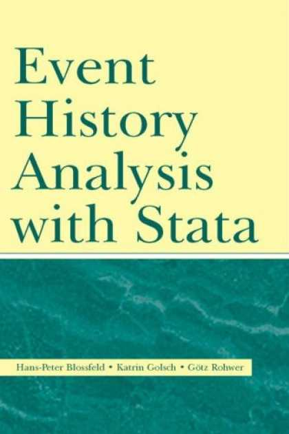 History Books - Event History Analysis with Stata