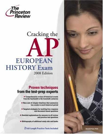 History Books - Cracking the AP European History Exam, 2008 Edition (College Test Preparation)