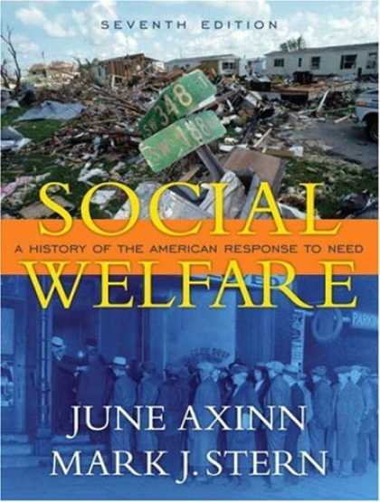 History Books - Social Welfare: A History of the American Response to Need (7th Edition)