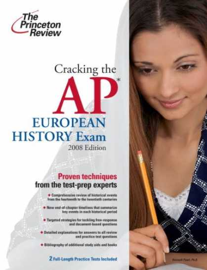 History Books - Cracking the AP European History Exam, 2009 Edition (College Test Preparation)