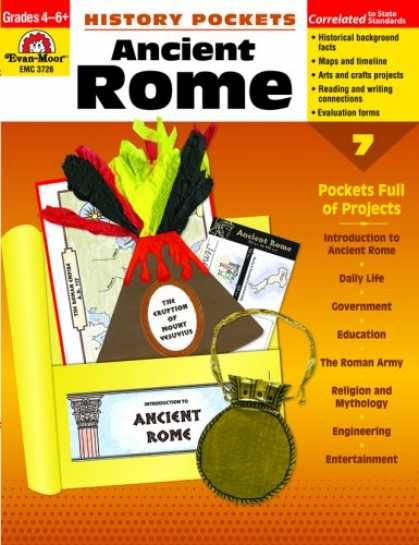 History Books - History Pockets: Ancient Rome, Grades 4-6+