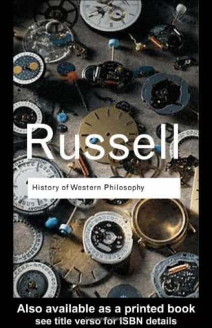 History Books - History of Western Philosophy (Routledge Classics)