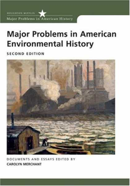 History Books - Major Problems in American Environmental History (Major Problems in American His