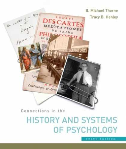 History Books - Connections in the History and Systems of Psychology