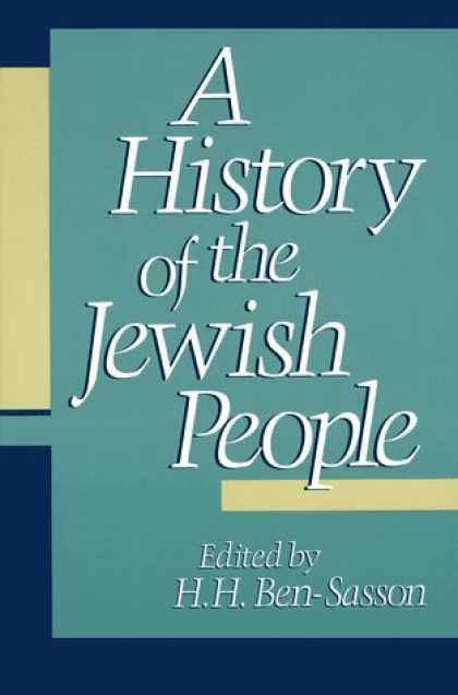History Books - A History of the Jewish People