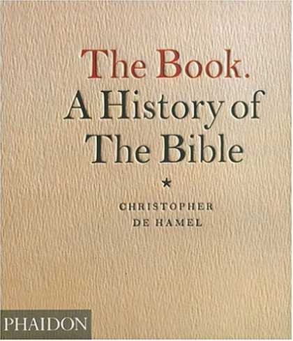 History Books - The Book: A History of the Bible