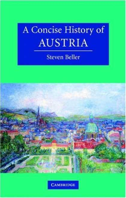 History Books - A Concise History of Austria (Cambridge Concise Histories)