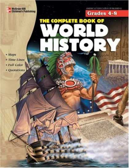 History Books - The Complete Book of World History (Complete Books)