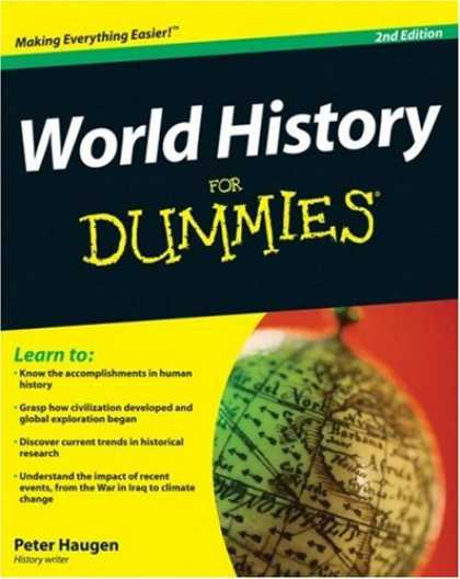 History Books - World History For Dummies (For Dummies (History, Biography & Politics))
