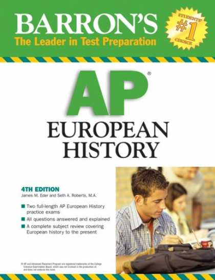 History Books - Barron's AP European History (Barron's How to Prepare for the Ap European Histor