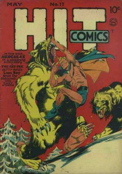 Hit Comics 11 - May - No 17 - 10 Cents - Fighting - Werewolf