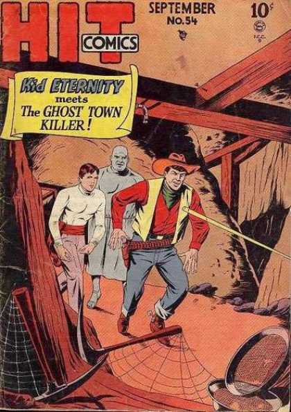 Hit Comics 54 - Kid Eternity - The Ghost Town Killer - September No 54 - Cowboy - Mine