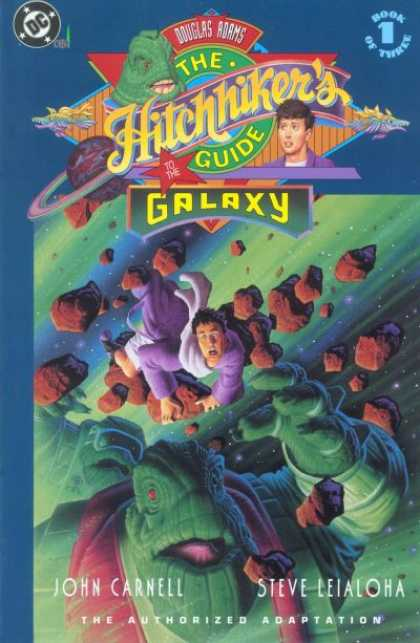 Hitchhiker's Guide to the Galaxy 1 - Rocks - Space