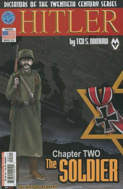 Hitler 2 - Jewish Star - Dictators Of The Twentieth Century Series - Usa Flag - Soldier - Gun