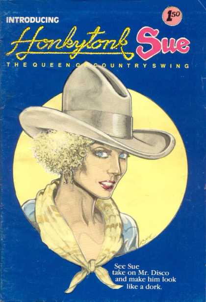 Honkytonk Sue 1 - Queen - Countryswing - Hat - Girl - Horseshoe