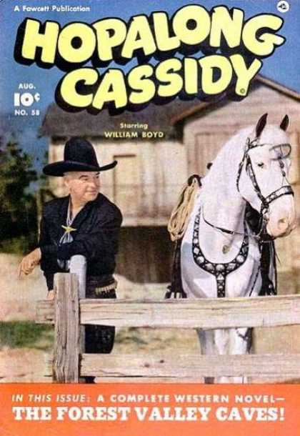 Hopalong Cassidy 58 - Wiliam Boyd - A Fawcett Publication - Complete Western - Novel - The Forest Valley Caves