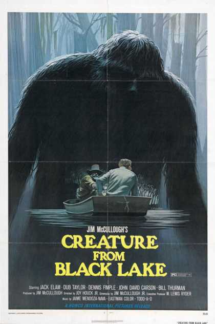 Horror Posters - Creature from Black Lake