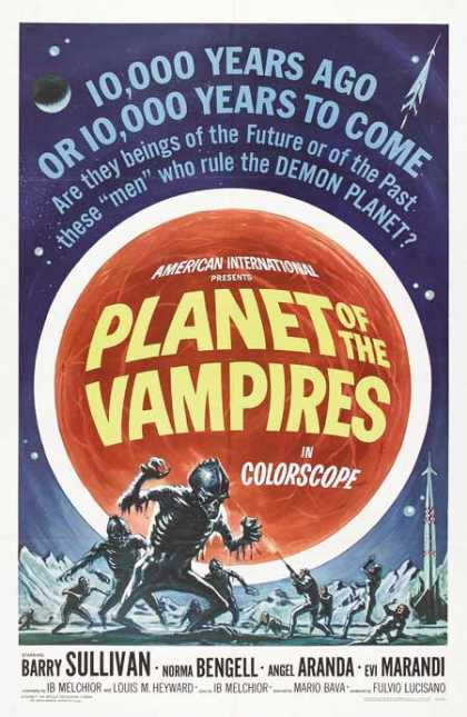 Horror Posters - Planet of the Vampires
