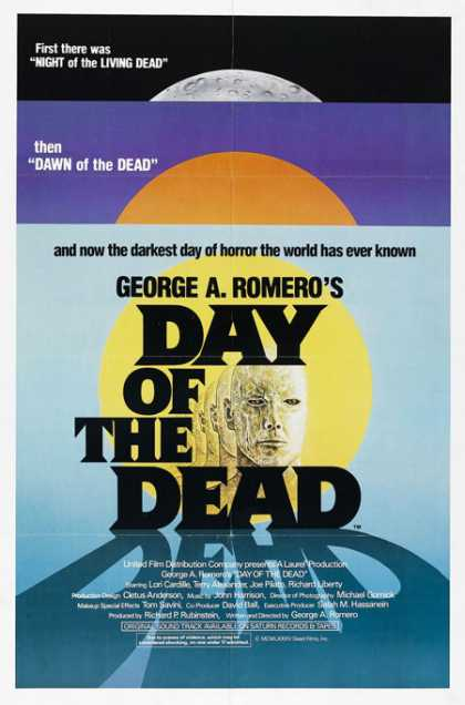 Horror Posters - Day of the Dead