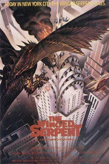 Horror Posters - The Winged Serpent