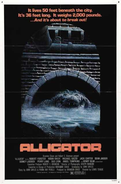 Horror Posters - Alligator