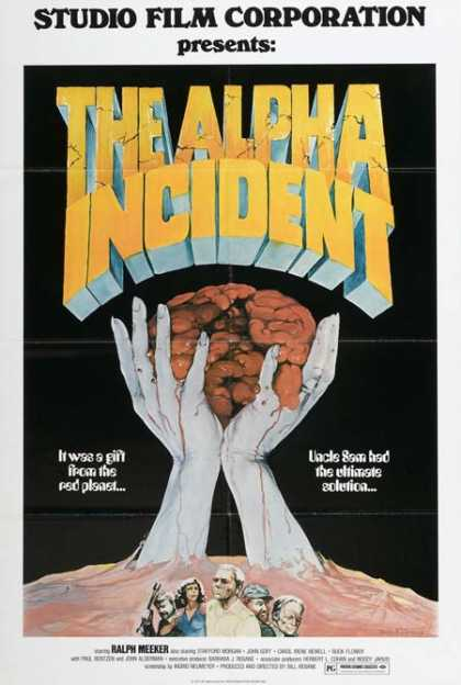 Horror Posters - The Alpha Incident