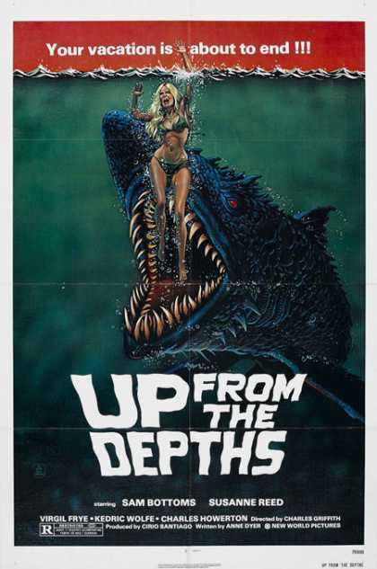 Horror Posters - Up From the Depths