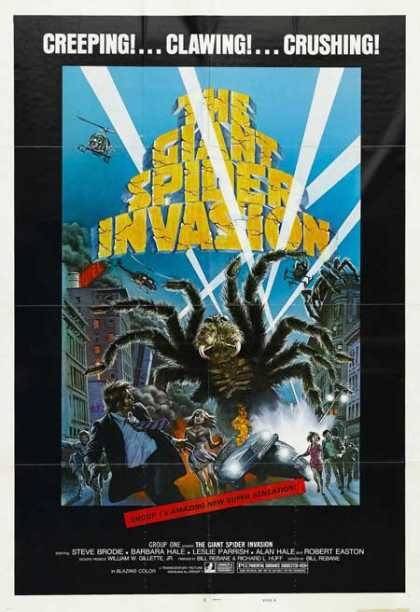 Horror Posters - The Giant Spider Invasion