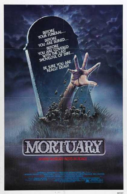 Horror Posters - Mortuary
