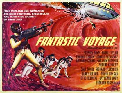 Horror Posters - Fantastic Voyage