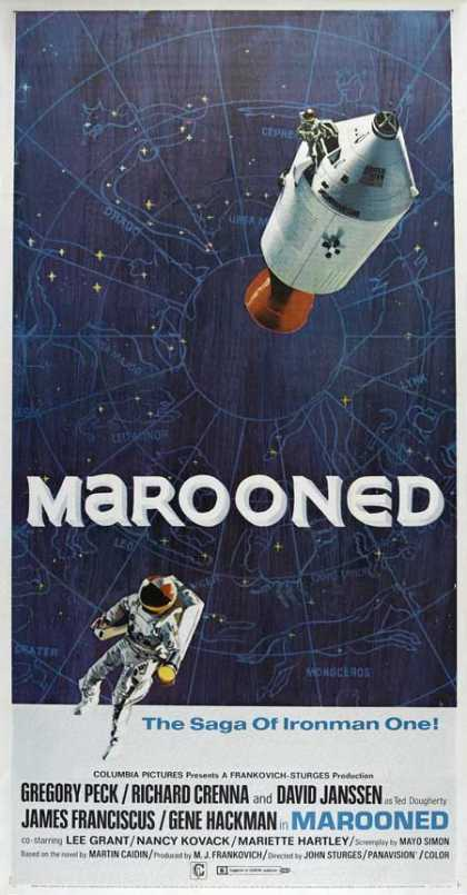 Horror Posters - Marooned