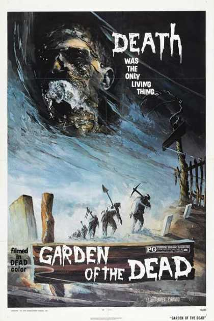 Horror Posters - Garden of the Dead