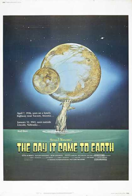 Horror Posters - The Day It Came to Earth