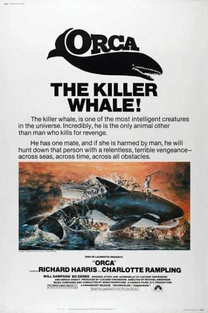 Horror Posters - Orca