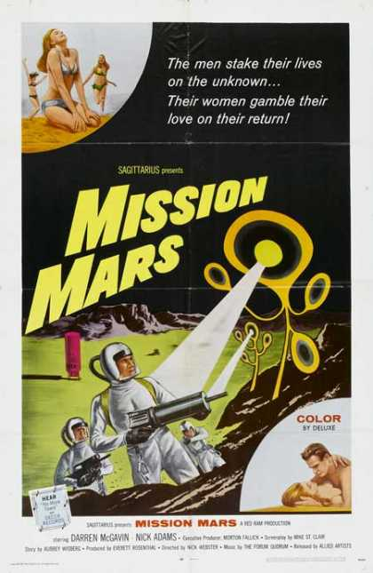 Horror Posters - Mission Mars