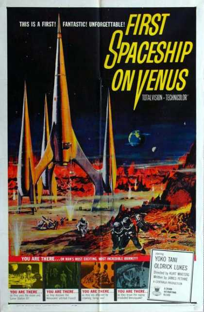 Horror Posters - First Spaceship on Venus