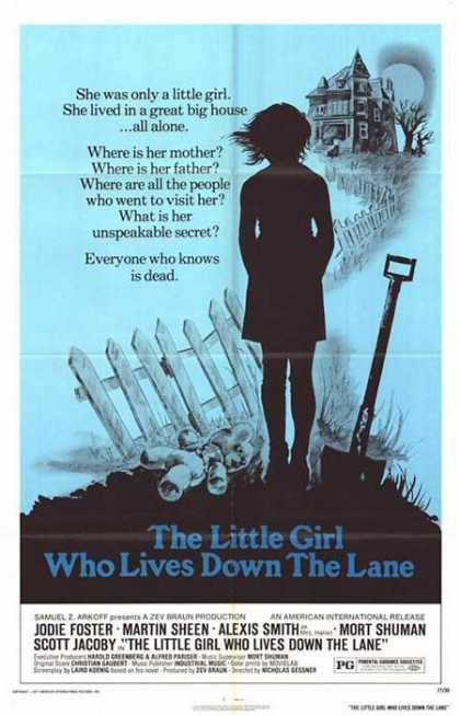 Horror Posters - The Little Girl Who Lived Down The Lane