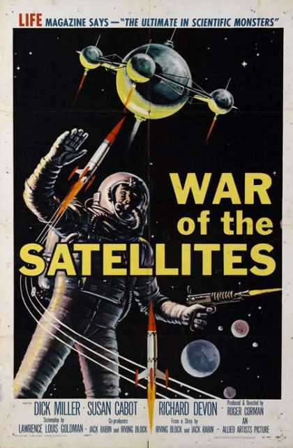 Horror Posters - War of the Satellites