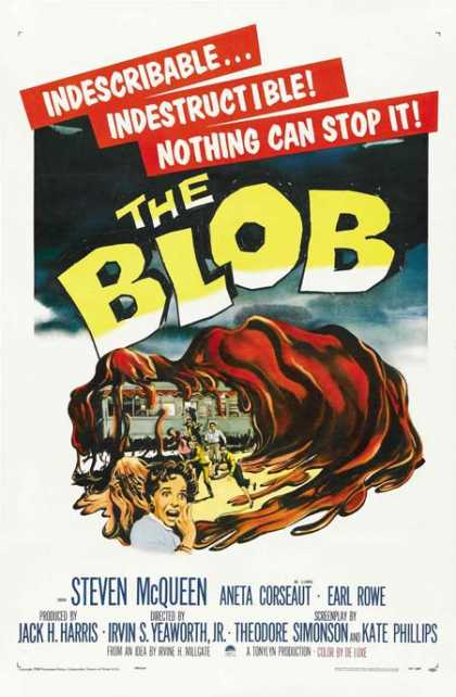 Horror Posters - The Blob