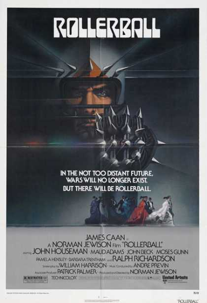 Horror Posters - Rollerball