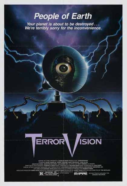 Horror Posters - TerrorVision