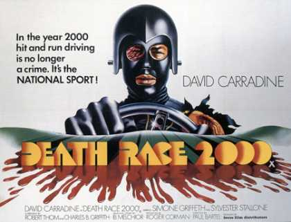 Horror Posters - Death Race 2000