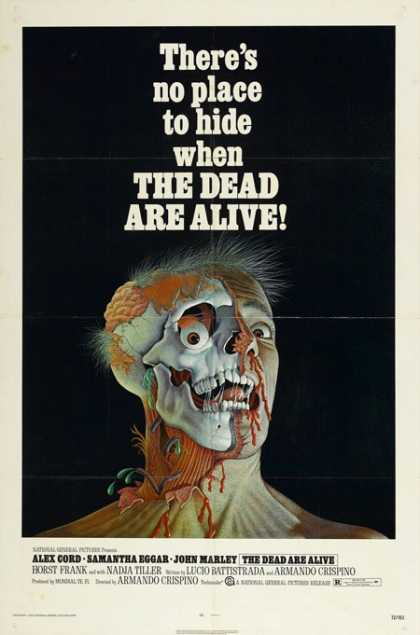 Horror Posters - The Dead Are Alive
